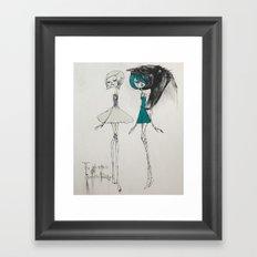 the adventures of isobelle pascha Framed Art Print