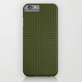 Angular Lines VI iPhone Case
