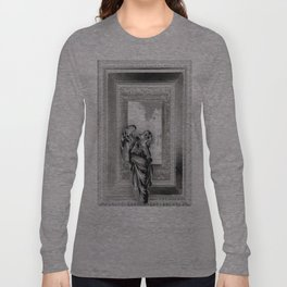 Angel of Bristol (BW - Inverted) Long Sleeve T-shirt