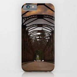 The Old Railway Bridge - Slovenia iPhone Case