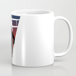 North By Northwest: Alfred Hitchcock + Cary Grant + plane = film classic Coffee Mug