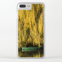 Under the Weeping Willow Clear iPhone Case