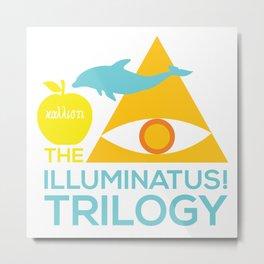 The Illuminatus! Trilogy Metal Print