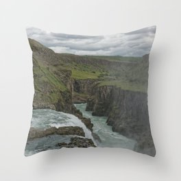 Erosions Of Time Throw Pillow