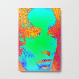 Elizabeth Taylor Beautiful Colorful Metal Print