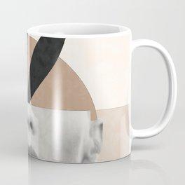 Abstract geometric floral beauty Coffee Mug