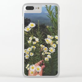 Catch The Breeze Clear iPhone Case