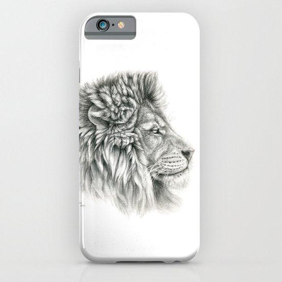 Lion - profile G044 iPhone & iPod Case