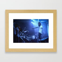 Hippie Sabotage Live in LA Framed Art Print
