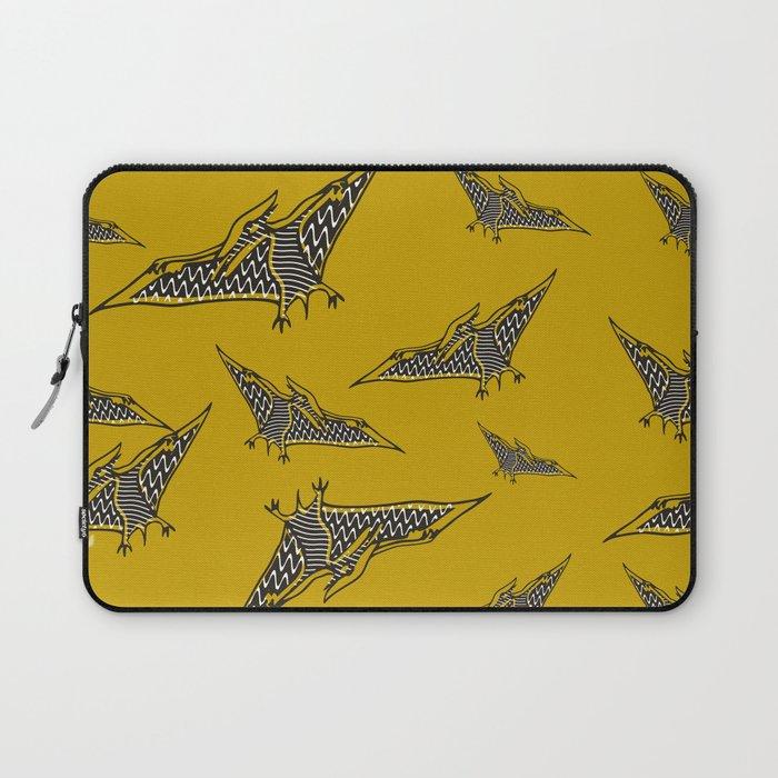 Pterosauria mustard Laptop Sleeve