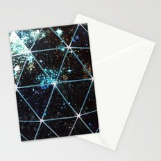 Galaxy Geodesic  Stationery Cards