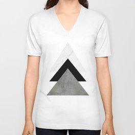 Arrows Monochrome Collage Unisex V-Neck