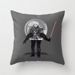 Bubble boy Vdr Throw Pillow