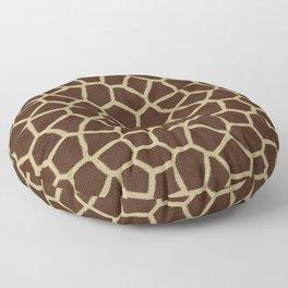 Giraffe Print Pattern Floor Pillow