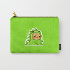 8bit Dinobear Carry-All Pouch