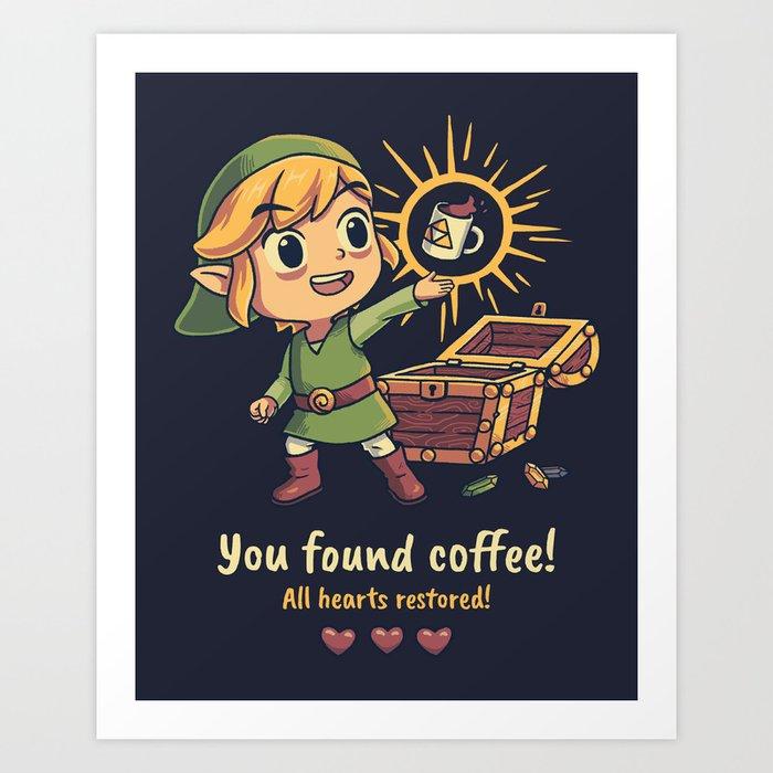 The Legendary Coffee Kunstdrucke