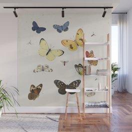 Ensemble de papillons {I/II} Wall Mural