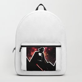 Darth, Dark, Black Backpack
