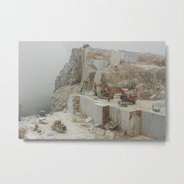 Marble Mines Metal Print