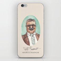 Historical Moustache Teddy Roosevelt iPhone & iPod Skin