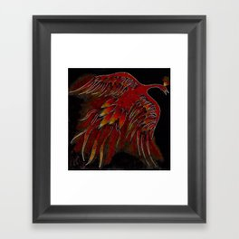 Creature of Fire (The Firebird) Framed Art Print