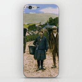 1900 Mosel wine harvest Schengen Luxembourg iPhone Skin