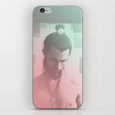 Rose Beard Yogi iPhone & iPod Skin