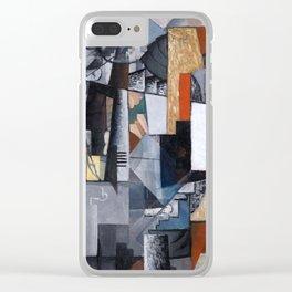 Kazimir Malevich - Bureau and Room Clear iPhone Case