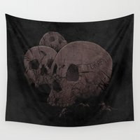 home sweet home Wall Tapestries featuring Home Sweet Home by victor calahan