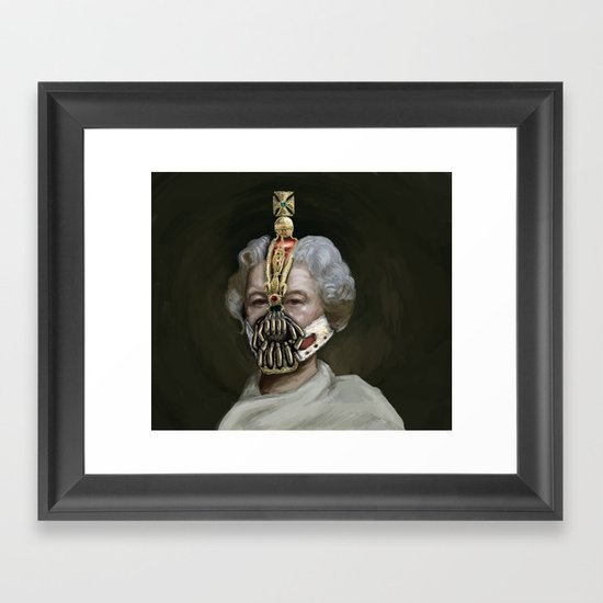 Queen Bane Framed Art Print