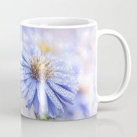 biology Mugs featuring Blue Aster in LOVE  by UtArt