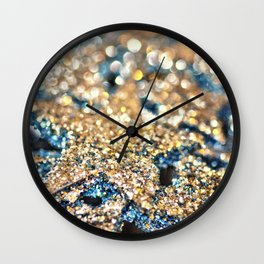 Starry Wishes and Bokeh Dreams... Wall Clock