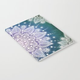 Peacock Mandala Notebook