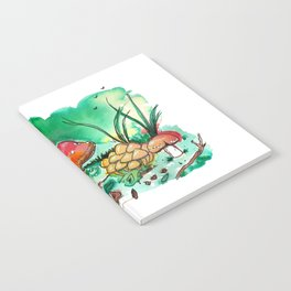 Toadstool Mushroom Fairy Land Notebook