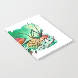 Toadstool Mushroom Fairy Land Notebook
