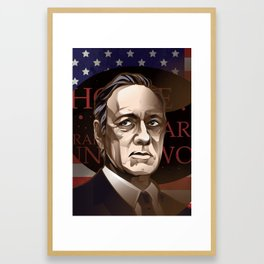 Franc Underwood Framed Art Print