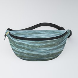 Aerial Ocean Photography   Sea Print   Beach   Waves   Blue   Turquoise   Green   Wave Fanny Pack