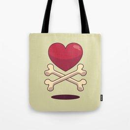 bone up on love Tote Bag