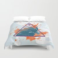 island Duvet Covers featuring Island by Last Call