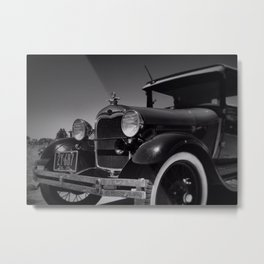 the good old days Metal Print