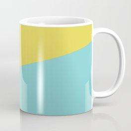 2COLOR | CITRINE + TIFFANY BLUE  Coffee Mug