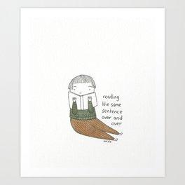fudgesticks Art Print