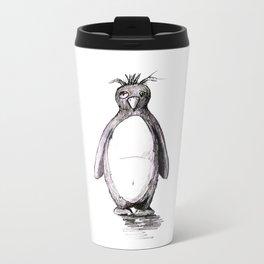 Bad Day Penguin Metal Travel Mug