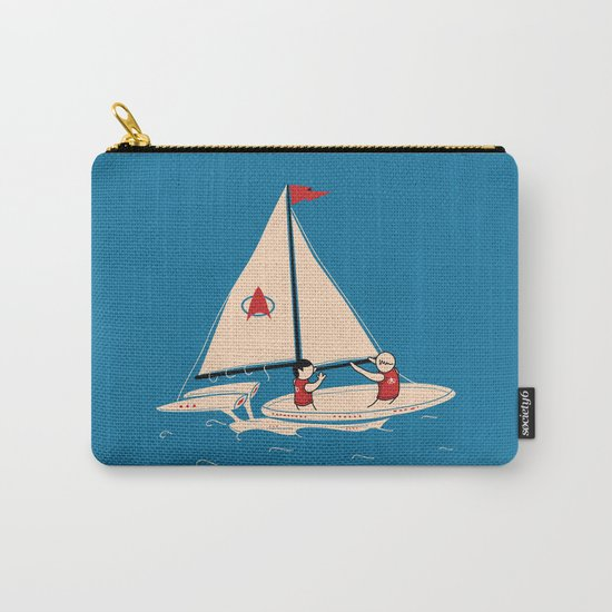 Sailing Towards Future Unknowns Carry-All Pouch