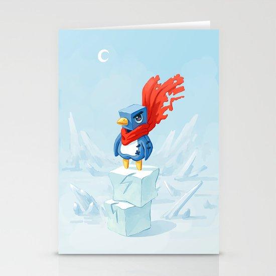 Super Penguin Stationery Cards