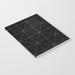 Geometric black and white Notebook