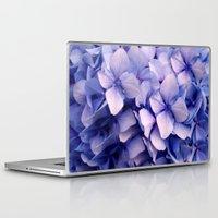 hydrangea Laptop & iPad Skins featuring Hydrangea by Anne Seltmann