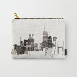 unfinished skyline Carry-All Pouch