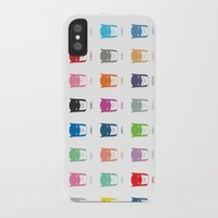 pantone iPhone & iPod Cases featuring Pantone Knight by James Northcote