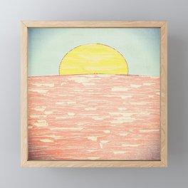 Always A Sunrise Framed Mini Art Print